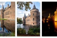 Marijke Veltmaat - Zelfde plaats, andere tijd - drieluik